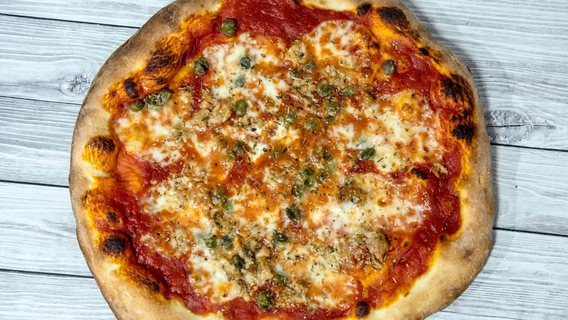 Ricetta Impasto Pizza A Lunga Lievitazione.Pizza 24 Ore A Lunga Lievitazione