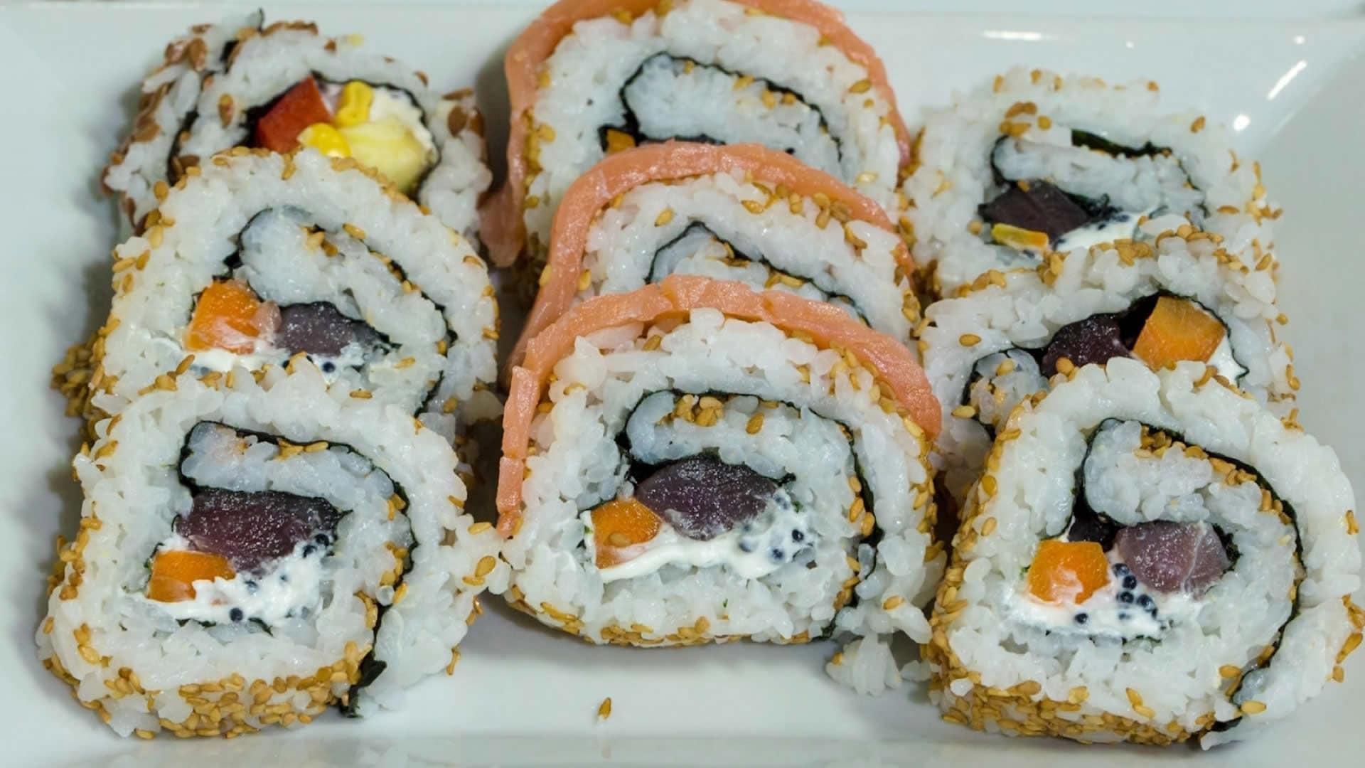 Uramaki Ricetta Facile.Uramaki Sushi O California Roll