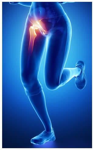 dolore allinguine e alla gamba maschile