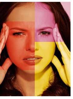 brividi frequenti e mal di testa